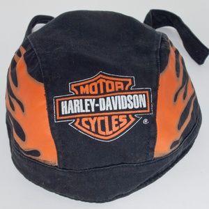 Harley Davidson Motorcycle Skull Cap Do-Rag